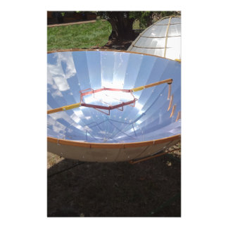 solar cooking stationery paper