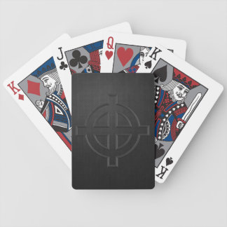 Solar Cross - extended cross variant (black metal) Card Deck