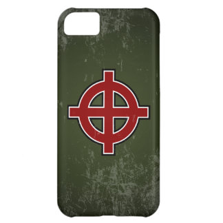 Solar Cross - extended cross variant (distressed) iPhone 5C Cases