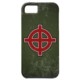 Solar Cross - extended cross variant (distressed) iPhone SE/5/5s Case
