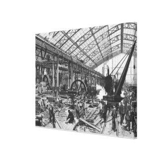 Solar de las máquinas del DES de Galerie Impresión En Lona
