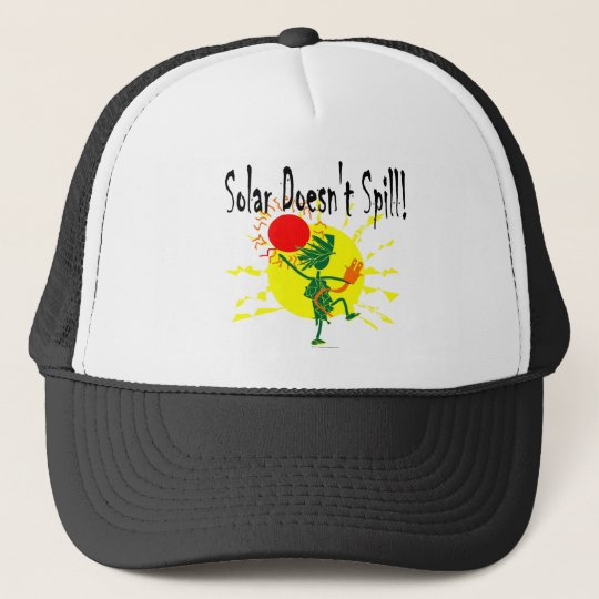 Solar Doesnt Spill T Shirt & More Trucker Hat
