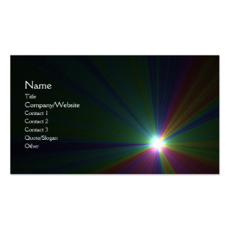 Solar Double-Sided Standard Business Cards (Pack Of 100)
