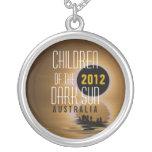 Solar Eclipse 2012 : Children of the Dark Sun Neck Pendant