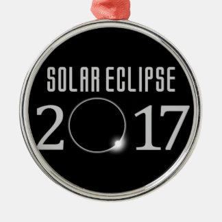 Solar Eclipse 2017 Commemorative Ornament