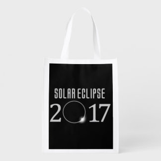Solar Eclipse 2017 Grocery Tote