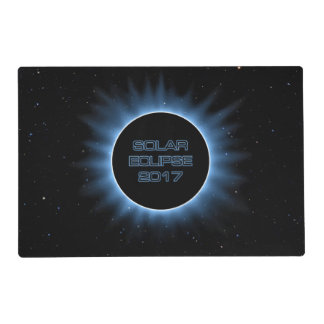 Solar Eclipse 2017 Laminated Placemat