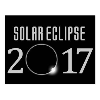 Solar Eclipse 2017 Postcard