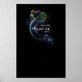 Solar Eclipse 2017Archival Poster