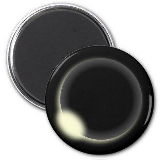 Solar Eclipse 2 Inch Round Magnet