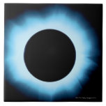 Solar eclipse 2 large square tile