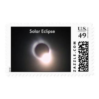Solar Eclipse 3 Postage Stamp