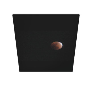 Solar Eclipse 5 Canvas Print