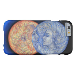 Solar Eclipse Art iPhone 6 case, Romantic Sun Moon Barely There iPhone 6 Case