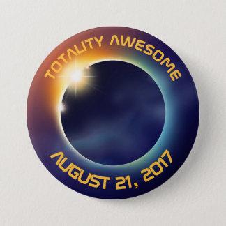 Solar Eclipse | Astronomy Button