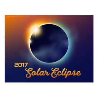 Solar Eclipse | Astronomy Party Postcard