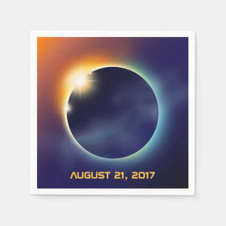 Solar Eclipse | Astronomy Star Party Paper Napkin