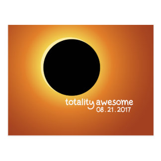 Solar Eclipse August 21 2017 Postcard
