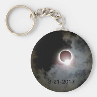 Solar Eclipse August 21st 2017 Keychain