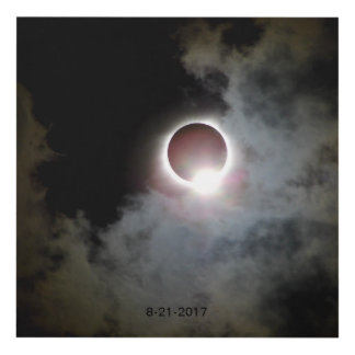 Solar Eclipse August 21st 2017 Panel Wall Art