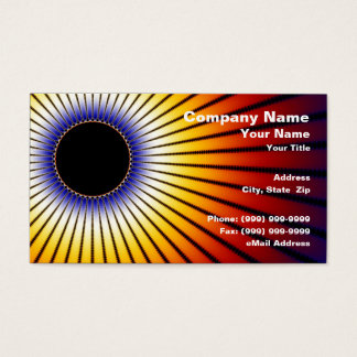 Solar Eclipse Business Card