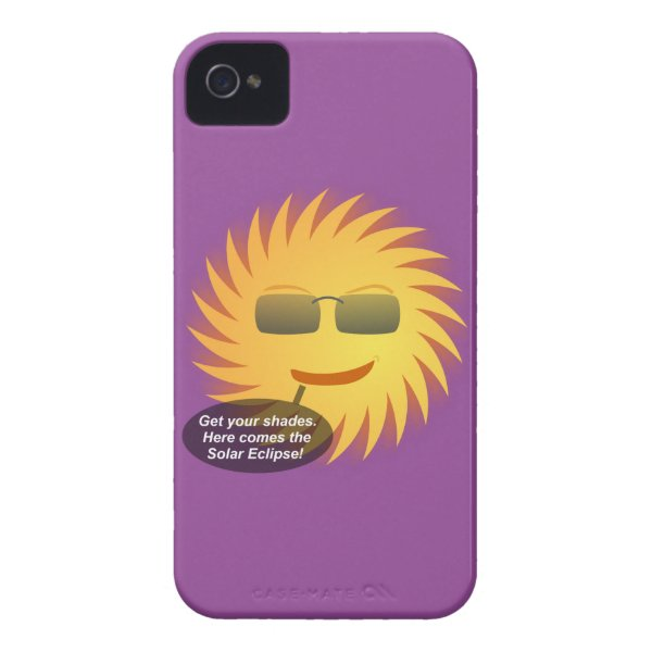 Solar Eclipse Case-Mate iPhone 4 Case