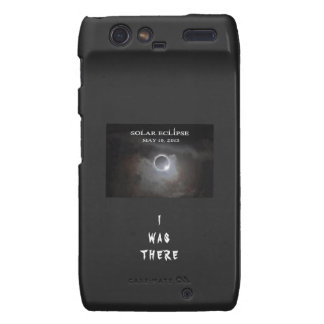 SOLAR ECLIPSE CELL PHONE COVER MOTOROLA DROID RAZR COVERS
