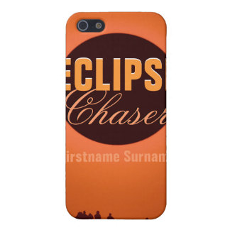 Solar Eclipse Chaser iPhone 4 Case