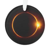 Solar Eclipse Dark Sun & Moon Ornament