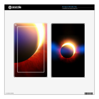 Solar Eclipse Decals For Kindle Fire