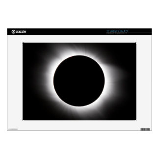 Solar eclipse decals for laptops