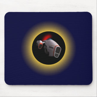 Solar eclipse Eclipse spaceship space ship Mousepad