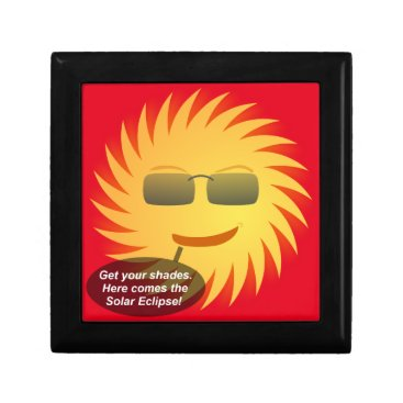 Beach Themed Solar Eclipse Gift Box