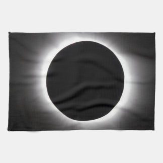 Solar eclipse hand towels