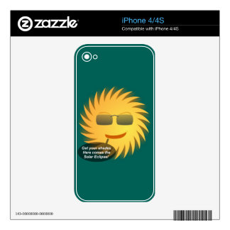 Solar Eclipse iPhone 4S Skins