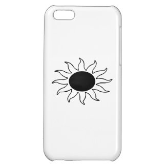 Solar Eclipse Cover For iPhone 5C
