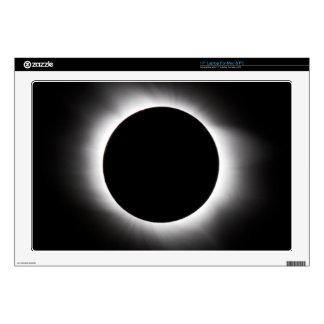 Solar eclipse laptop skins