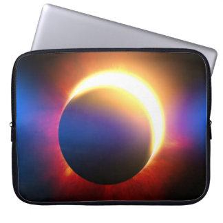 Solar Eclipse Laptop Computer Sleeve