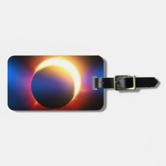 Solar Eclipse Luggage Tag
