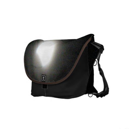 Solar Eclipse Messenger Bag
