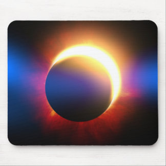 Solar Eclipse Mouse Pad