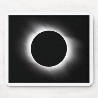 Solar eclipse mouse pad