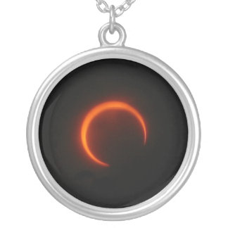 Solar Eclipse Personalized Necklace