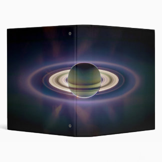 Solar Eclipse Of Saturn from Cassini Spacecraft 3 Ring Binder