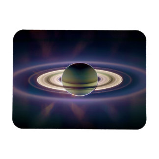 Solar Eclipse Of Saturn from Cassini Spacecraft Vinyl Magnets