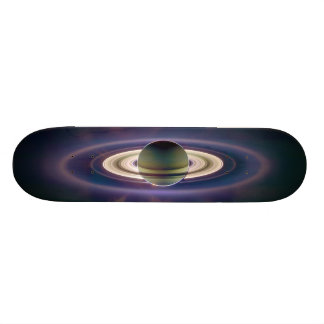 Solar Eclipse Of Saturn from Cassini Spacecraft Skateboard