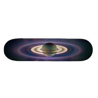 Solar Eclipse Of Saturn from Cassini Spacecraft Skateboard