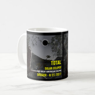Solar Eclipse Oregon 8/21/2017 Coffee Mug