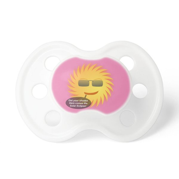 Solar Eclipse Pacifier