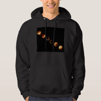 Solar Eclipse Phases Hoody